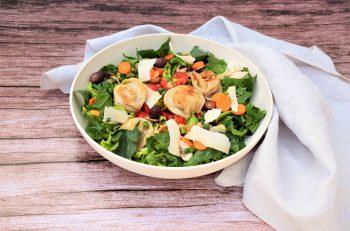 Dreilauch-Nudl<br>Frühlings Salat-Bowl