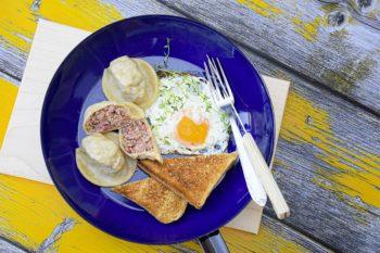 Fleisch-Nudl im Katerfrühstück